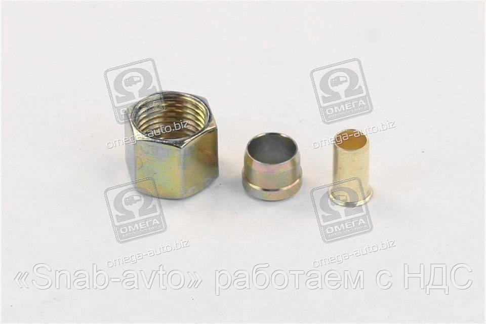 Ремкомплект трубки ПВХ (Dвнут.=10мм, М16х1,5) (RIDER) (арт. RD 01.02.143)