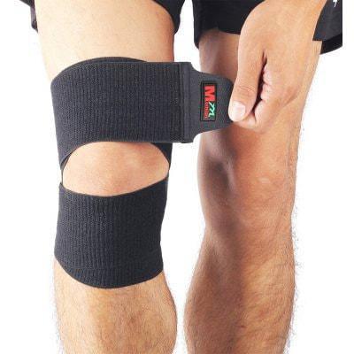 Mumian B07 Силиконовый многофункциональный бинт для защиты коленного и локтевого сустава / лодыжки / ног - Чёрный, фото 2