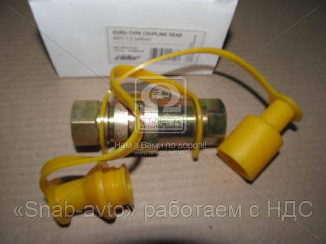 Головка соединительная Евро М22х1,5  желт MB, MAN (RIDER) (арт. RD 01.01.69), AAHZX