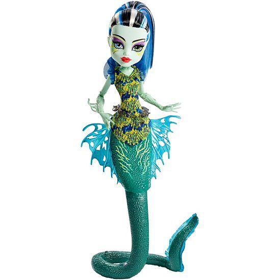 а, Кукла Monster High Great Scarrier Reef Frankie Большой скарьерный риф Френки