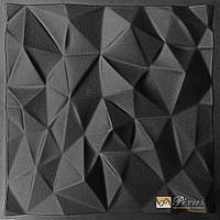 "Пластиковая форма для 3D панелей ""Кристаллы"" (форма для 3д панелей из абс пластика)"