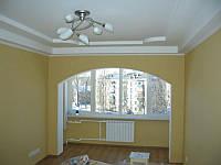 Малярные работы, ремонт потолка
