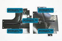 Защита двигателя грязевая боковая 2121 АвтоВаЗ к-т 2 шт ВАЗ-2131 (2121-2802021)