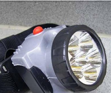 Фонарь XY-2010 – 6С налобный (на батарейках)