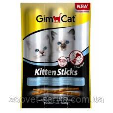 Мясные Палочки для котят Индейка+КальцийGIMPET Sticksупаковка 3штG-420448