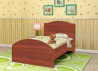 Кровать KRZ детская / подростковая с ящиком в детскую комнату (размер 120х190 см) ТМ Вальтер Яблоня локарно