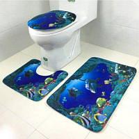 Набор декора для украшения ванной туалета стиль 1
