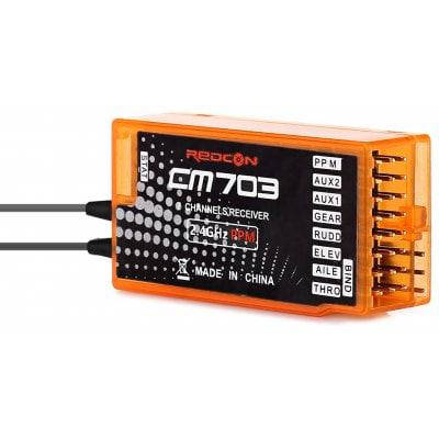 CM703 2.4GHz 7CH DSM-X DSM2 приемник - Цветной, фото 2