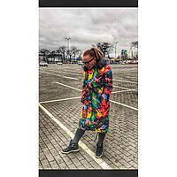 Куртка-парка женская Разноцветная р 42-54
