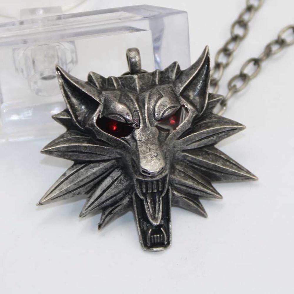 """Медальон (кулон) Ведьмака """"Волк""""! Качественная 3D-модель!"""