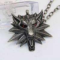"""Медальон (кулон) Ведьмака """"Волк""""! Качественная 3D-модель!, фото 1"""