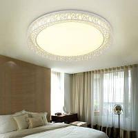 JUEJA Греческий стиль железа Арт 12 Вт 11 дюймов светодиодные потолочные светильники для гостиной спальни Тёпло-белый
