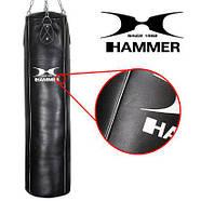 Мешок боксерский Hammer Premium Cowhide Professional, фото 3