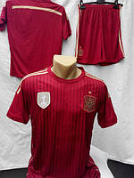 Футбольная форма Сборная Португалии бордовая подростковая