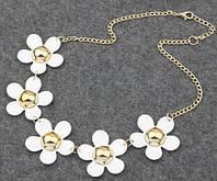 Ожерелье Колье белое tb1237