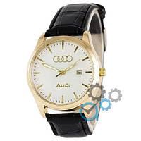 Наручные мужские часы Audi 7068 Black-Gold-White