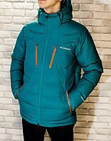 Мужская зимняя куртка Columbia Omni-Heat art. 1812-04 b67003ba871c7
