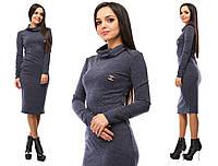 Женское стильное платье со значком шанель, фото 1