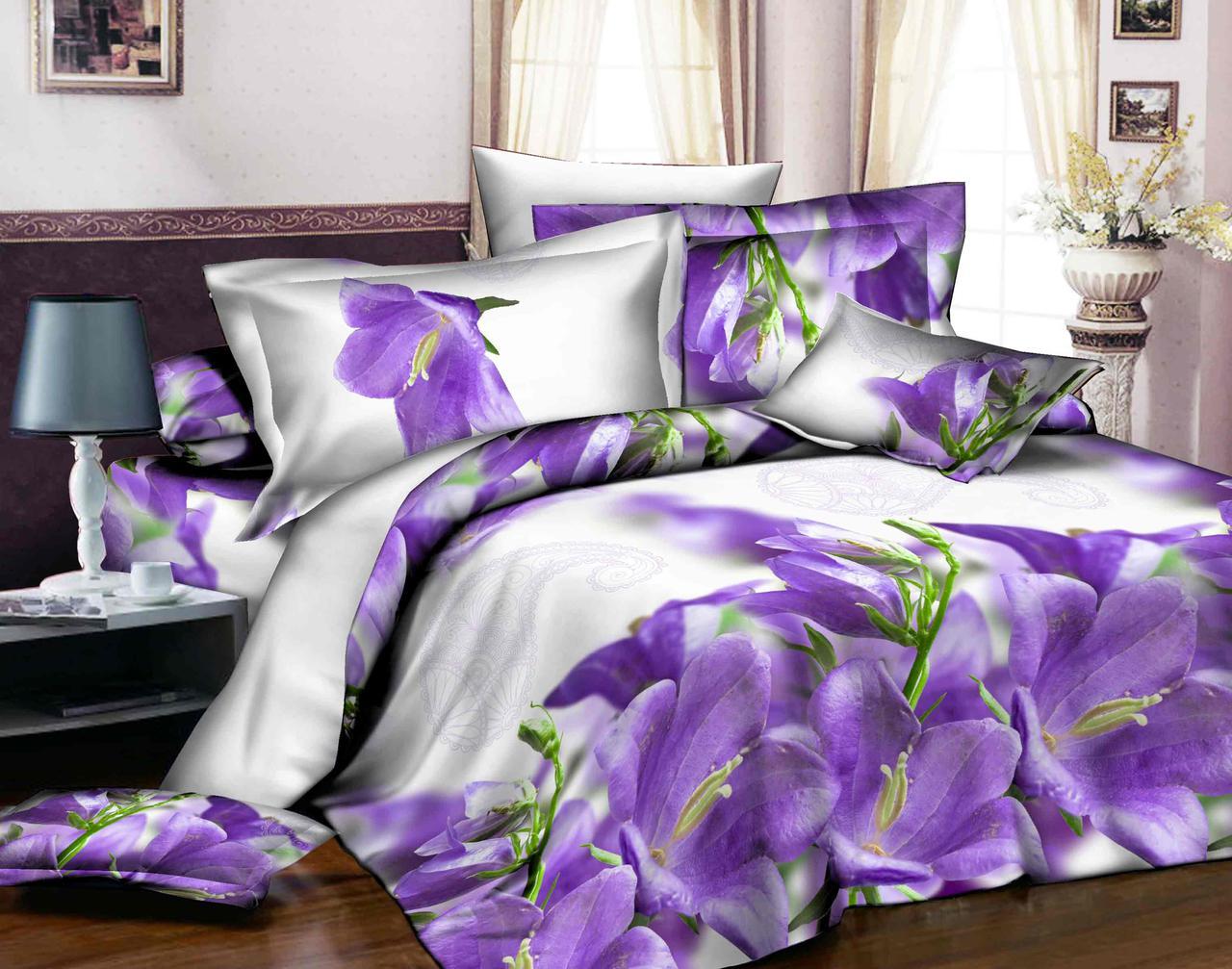 Полуторный набор постельного белья из Ранфорса №343 Черешенка™