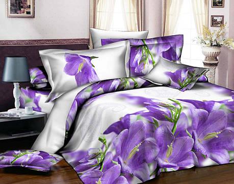 Полуторный набор постельного белья из Ранфорса №343 Черешенка™, фото 2