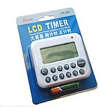 Цифровой LCD таймер «PS-367» белый, фото 7