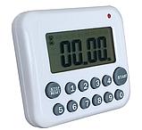 Цифровой LCD таймер «PS-367» белый, фото 2