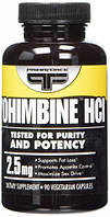 Yohimbine HCL PrimaForce, 90 капсул