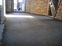 Черновая стяжка пола (5 см.)