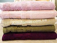 "Махровое полотенце ""Vip Bambo-Gold"" 50*90 (100% бамбук) 6 шт./уп. Puppila, Турция  5029"