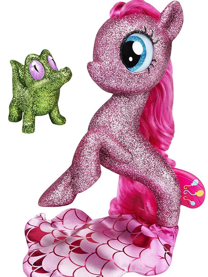 Блестящая фигурка Литл Пони Пинки Пай с подсветкой 15с My Little Pony Glitter Pinkie Pie Seapony