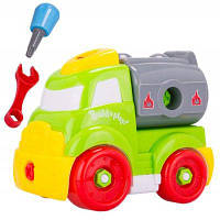 Игрушка машинка пластиковый грузовик для сбора и разбора