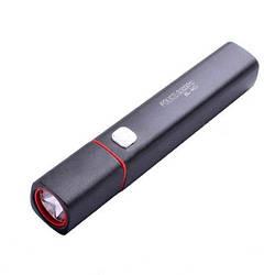 Фонарик с функцией power bank - Bailong M01, заряжает телефоны по USB-кабелю