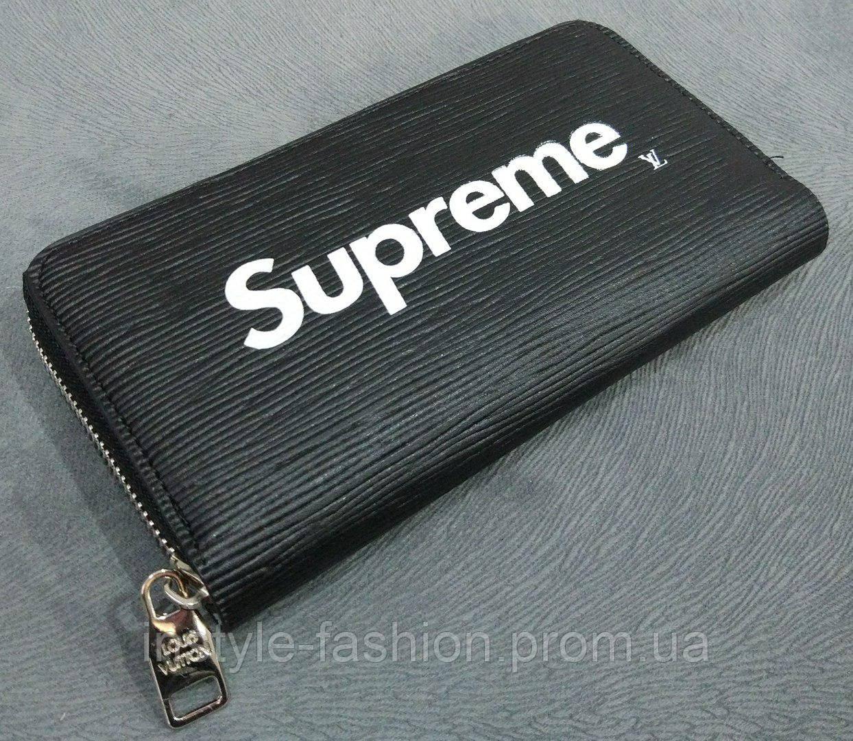 Кошелек женский Louis Vuitton Supreme эко-кожа черный - Сумки брендовые,  кошельки, очки 56688c9cf52