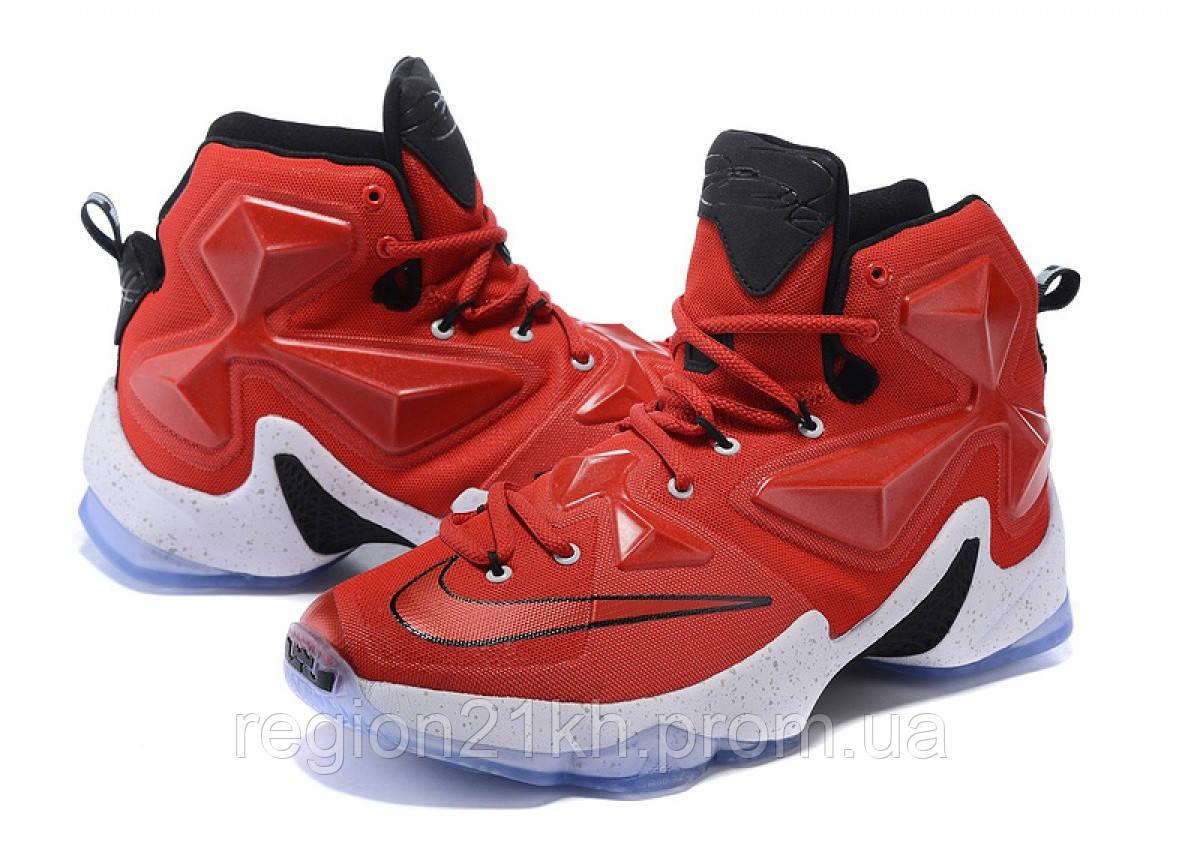 Баскетбольные кроссовки Nike LeBron XIII 13 On Court Red