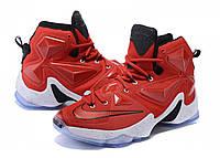 Баскетбольные кроссовки Nike LeBron XIII 13 On Court Red, фото 1