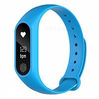 M2 Mi Band 2 Фитнес браслет Smart Watch Bluetooth 4.0, шагомер, фитнес трекер, пульс, монитор сна Синий