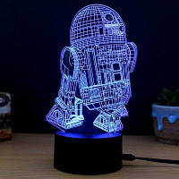 M.Sparkling 3D Творческие красочные USB питание ночной светильник 32162