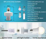 Sonoff SLAMPHER WIFI 433MHZ RF управляемый беспроводной патрон  для лампы Е27, фото 2