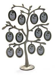 Дерево фоторамка на 12 фото