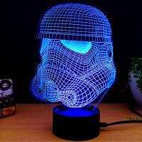 M.Sparkling 3D Творческие красочные USB питание ночной светильник 48838