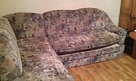 Перетяжка и ремонт углового дивана в Киеве и области