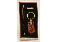 Подарочный набор: ручка + брелок - фонарик