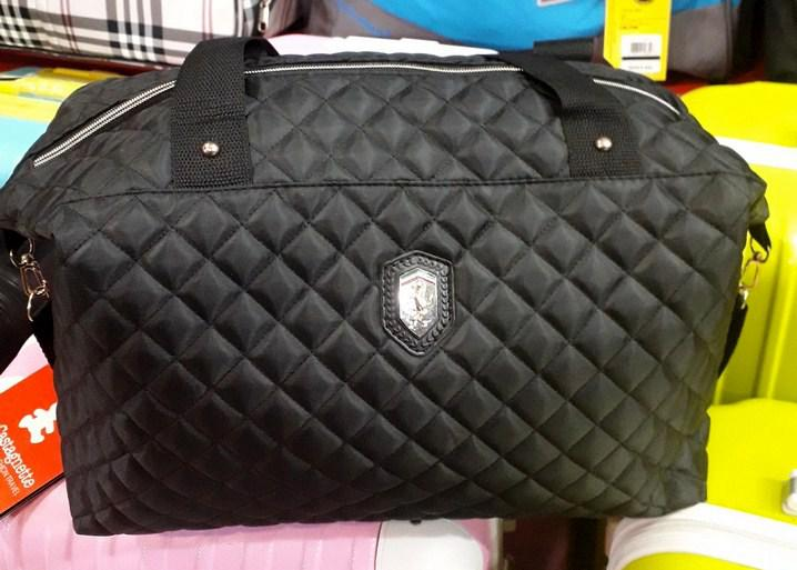 999b06f38daa Сумка Ferrari 114678 черная спортивная женская стеганный текстиль копия,  цена 230 грн., купить в Харькове — Prom.ua (ID#508087453)