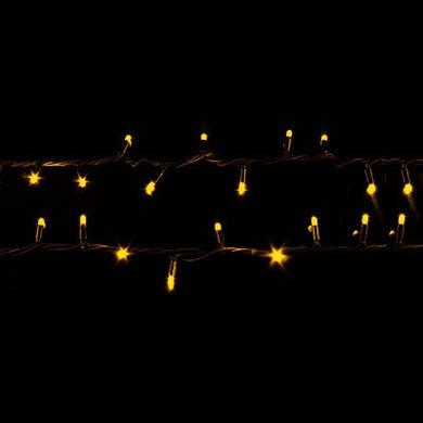 Гирлянда Уличная профессиональная String PHEENECS 10м (Нить) 100 LED тепло белая черный кабель
