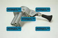 Кран тормозной обратного действия ДК КамАЗ-4326 (каталог 2003г) (100-3537010)