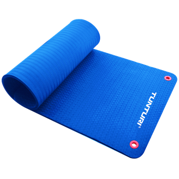 Коврик для фитнеса профессиональный Tunturi TPE Blue 14TUSFU126