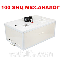 Инкубатор Курочка ряба ИБ-100 усиленный корпус, аналоговый терморегулятор