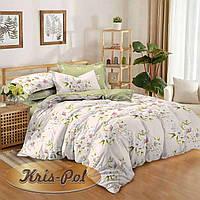 Комплект постельного белья ТМ Kris-pol (Украина) сатин хлопок полуторный