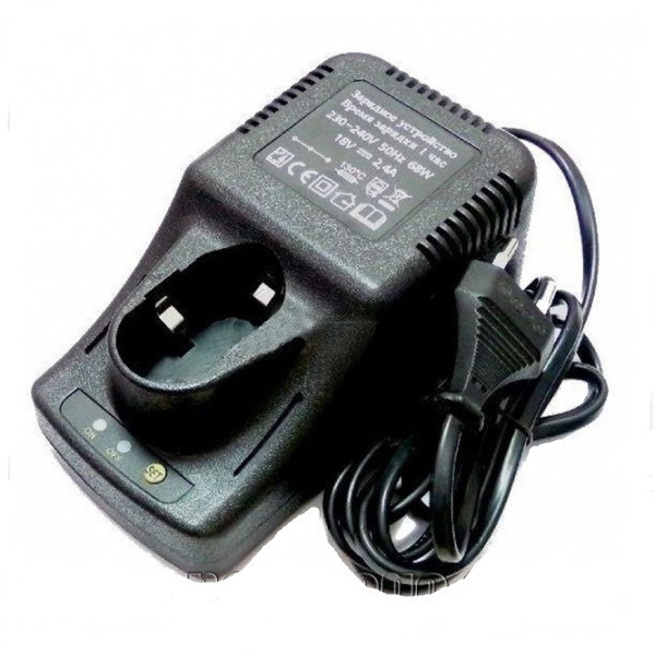 Зарядное устройство для аккумуляторных шуруповёртов 18V / 1500 ma