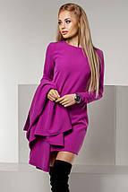 """Элегантный женский костюм-двойка """"Parina"""" с кейп-пиджаком (4 цвета), фото 2"""